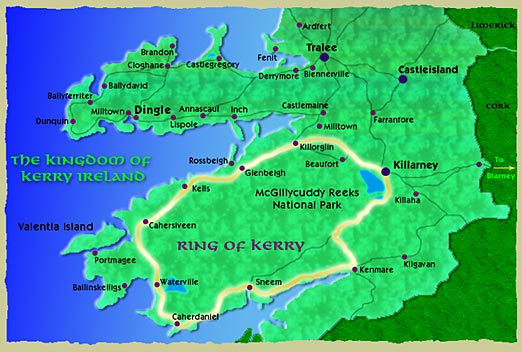 Ring Of Kerry Area Attractions Irish Resorts